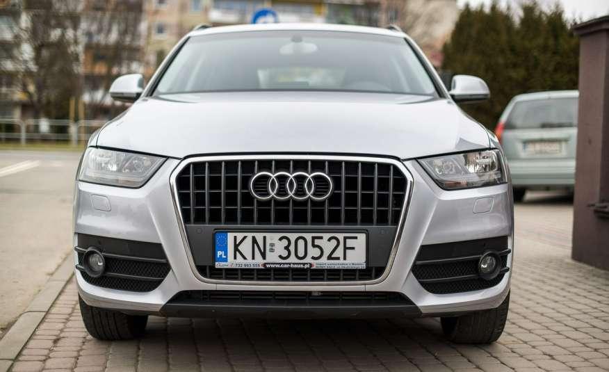 Audi Q3 2.0_Diesel_140KM_127 tys. km_Kamera_NAVI_PDC_HAK_Zarejestrowany zdjęcie 2