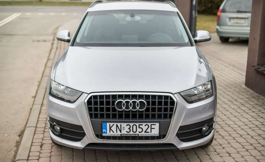 Audi Q3 2.0_Diesel_140KM_127 tys. km_Kamera_NAVI_PDC_HAK_Zarejestrowany zdjęcie 3