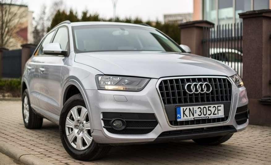 Audi Q3 2.0_Diesel_140KM_127 tys. km_Kamera_NAVI_PDC_HAK_Zarejestrowany zdjęcie 4