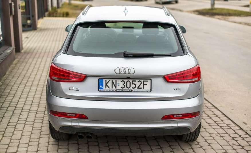 Audi Q3 2.0_Diesel_140KM_127 tys. km_Kamera_NAVI_PDC_HAK_Zarejestrowany zdjęcie 6