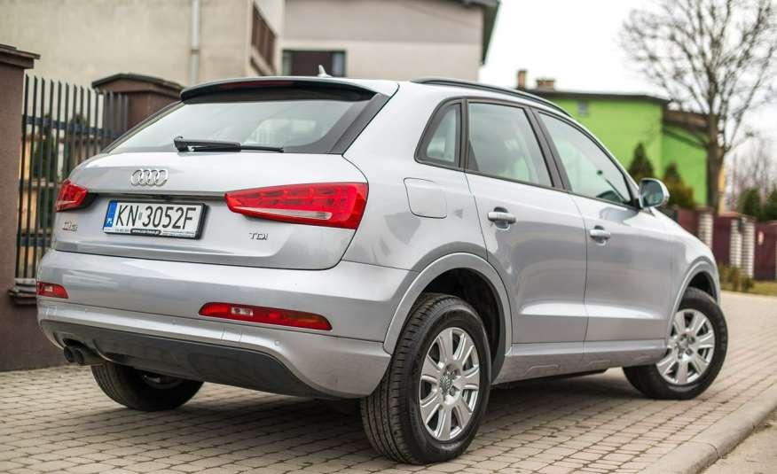 Audi Q3 2.0_Diesel_140KM_127 tys. km_Kamera_NAVI_PDC_HAK_Zarejestrowany zdjęcie 7