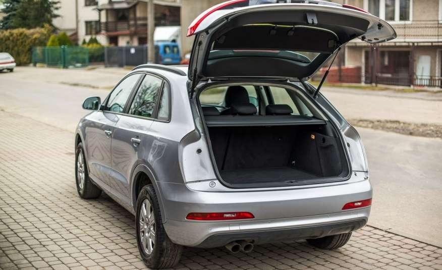 Audi Q3 2.0_Diesel_140KM_127 tys. km_Kamera_NAVI_PDC_HAK_Zarejestrowany zdjęcie 12