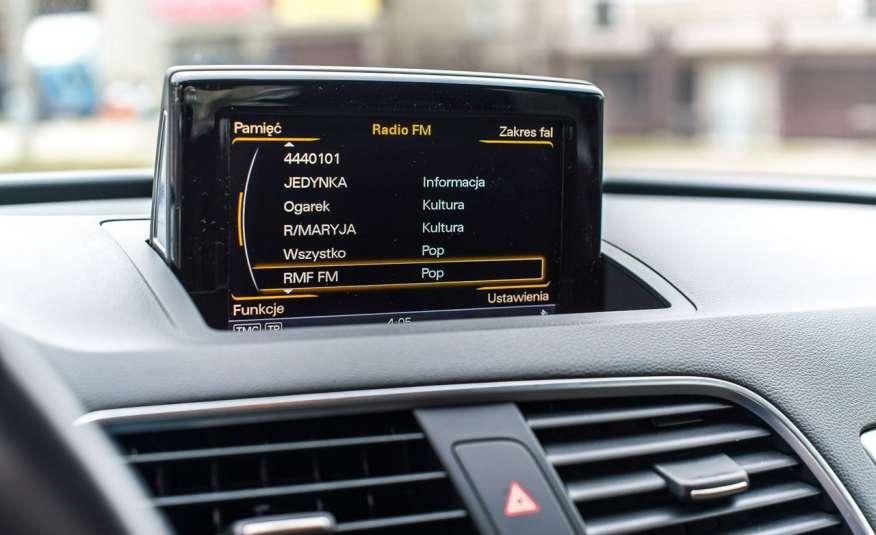 Audi Q3 2.0_Diesel_140KM_127 tys. km_Kamera_NAVI_PDC_HAK_Zarejestrowany zdjęcie 14