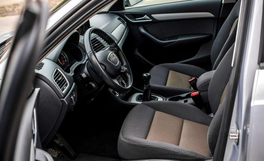 Audi Q3 2.0_Diesel_140KM_127 tys. km_Kamera_NAVI_PDC_HAK_Zarejestrowany zdjęcie 16