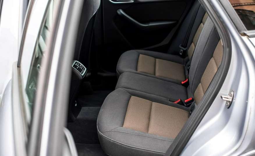 Audi Q3 2.0_Diesel_140KM_127 tys. km_Kamera_NAVI_PDC_HAK_Zarejestrowany zdjęcie 17