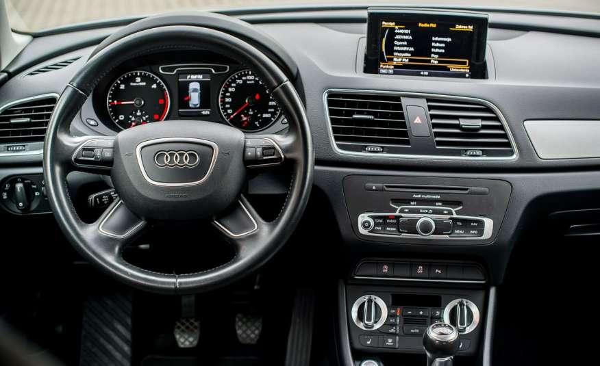 Audi Q3 2.0_Diesel_140KM_127 tys. km_Kamera_NAVI_PDC_HAK_Zarejestrowany zdjęcie 18
