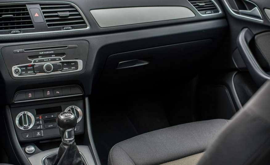 Audi Q3 2.0_Diesel_140KM_127 tys. km_Kamera_NAVI_PDC_HAK_Zarejestrowany zdjęcie 19