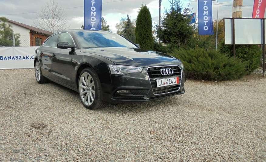Audi A5 Opłacona , wyposażona , niski przebieg , benzyna.Lift zdjęcie 2