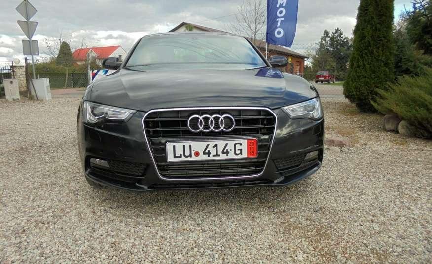 Audi A5 Opłacona , wyposażona , niski przebieg , benzyna.Lift zdjęcie 3