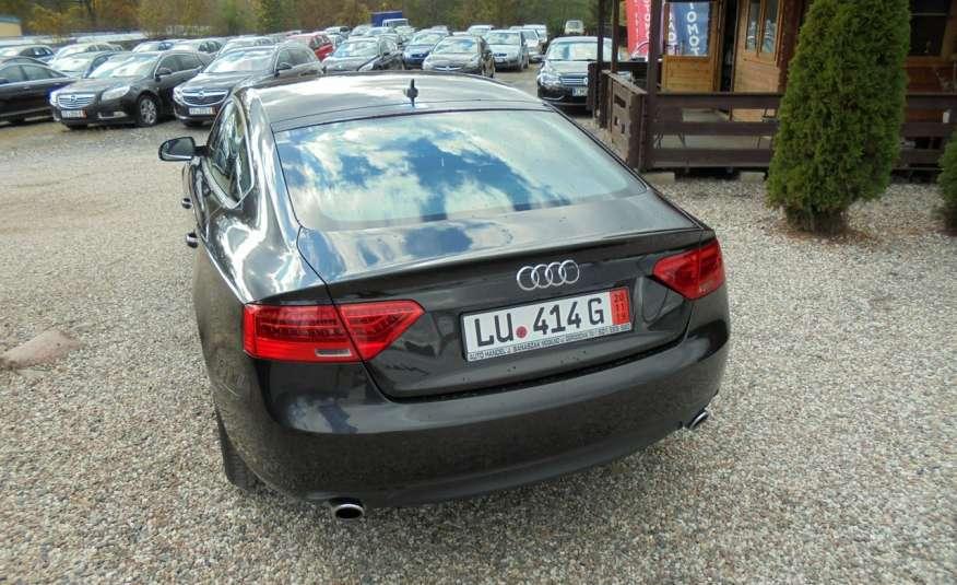 Audi A5 Opłacona , wyposażona , niski przebieg , benzyna.Lift zdjęcie 10