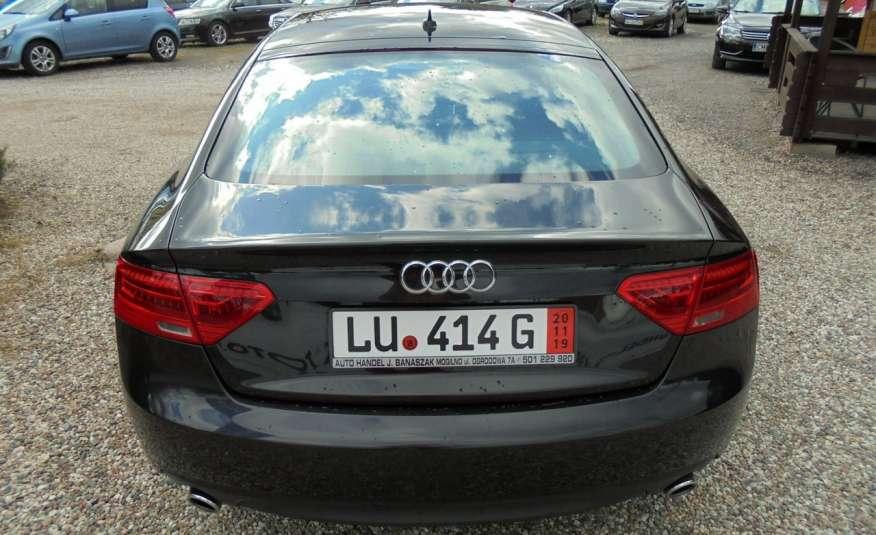 Audi A5 Opłacona , wyposażona , niski przebieg , benzyna.Lift zdjęcie 11