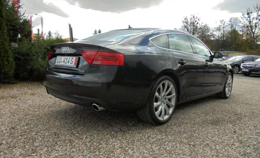 Audi A5 Opłacona , wyposażona , niski przebieg , benzyna.Lift zdjęcie 13