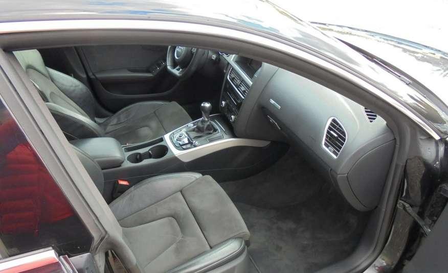 Audi A5 Opłacona , wyposażona , niski przebieg , benzyna.Lift zdjęcie 16