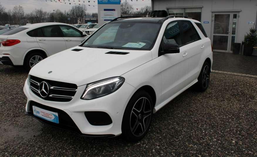 Mercedes GLE 250 Salon, Automat, skora, panoramadach, czujniki LED.4matic zdjęcie 2