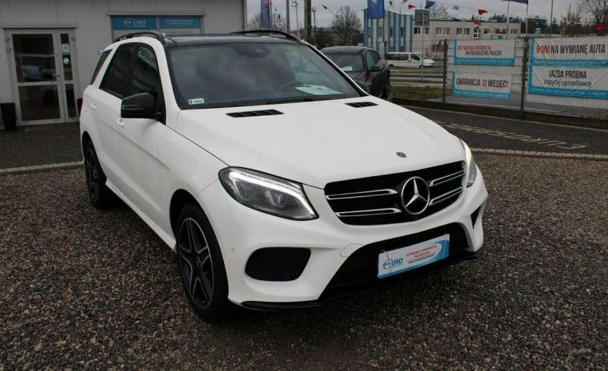 Mercedes GLE 250 Salon, Automat, skora, panoramadach, czujniki LED.4matic zdjęcie 3