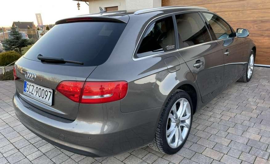 Audi A4 2.0 150 KM skóra navi el.klapa serwisowana w ASO 15r Cz wa zdjęcie 4