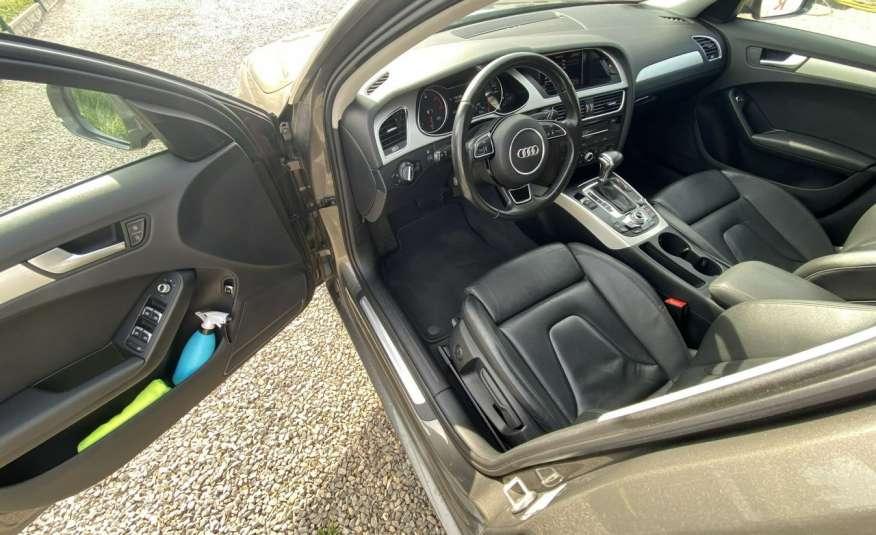 Audi A4 2.0 150 KM skóra navi el.klapa serwisowana w ASO 15r Cz wa zdjęcie 7