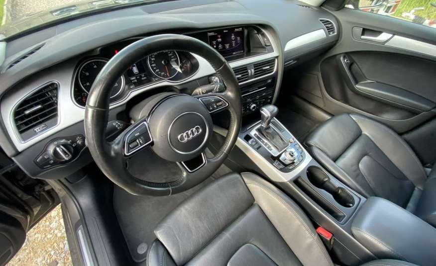 Audi A4 2.0 150 KM skóra navi el.klapa serwisowana w ASO 15r Cz wa zdjęcie 10