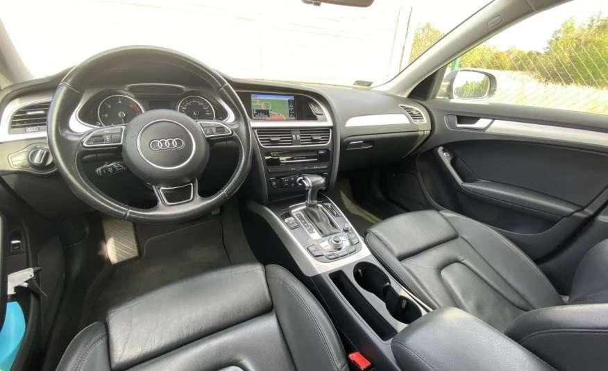 Audi A4 2.0 150 KM skóra navi el.klapa serwisowana w ASO 15r Cz wa zdjęcie 16