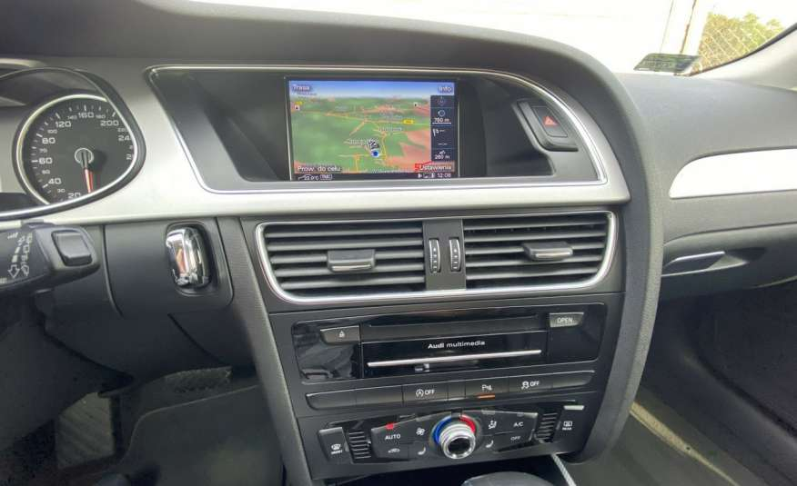 Audi A4 2.0 150 KM skóra navi el.klapa serwisowana w ASO 15r Cz wa zdjęcie 17
