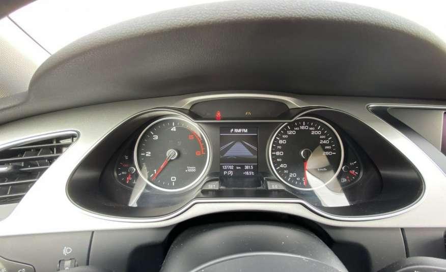 Audi A4 2.0 150 KM skóra navi el.klapa serwisowana w ASO 15r Cz wa zdjęcie 18