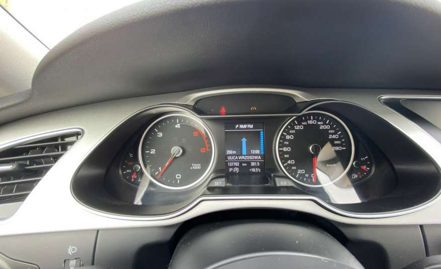 Audi A4 2.0 150 KM skóra navi el.klapa serwisowana w ASO 15r Cz wa zdjęcie 19
