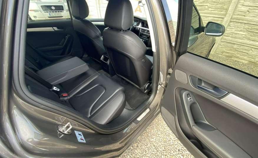 Audi A4 2.0 150 KM skóra navi el.klapa serwisowana w ASO 15r Cz wa zdjęcie 21