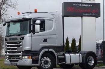 Scania R 450 / RETARDER / HYDRAULIKA DO WYWROTU / NISKA KABINA CR 19 / EURO 6 /