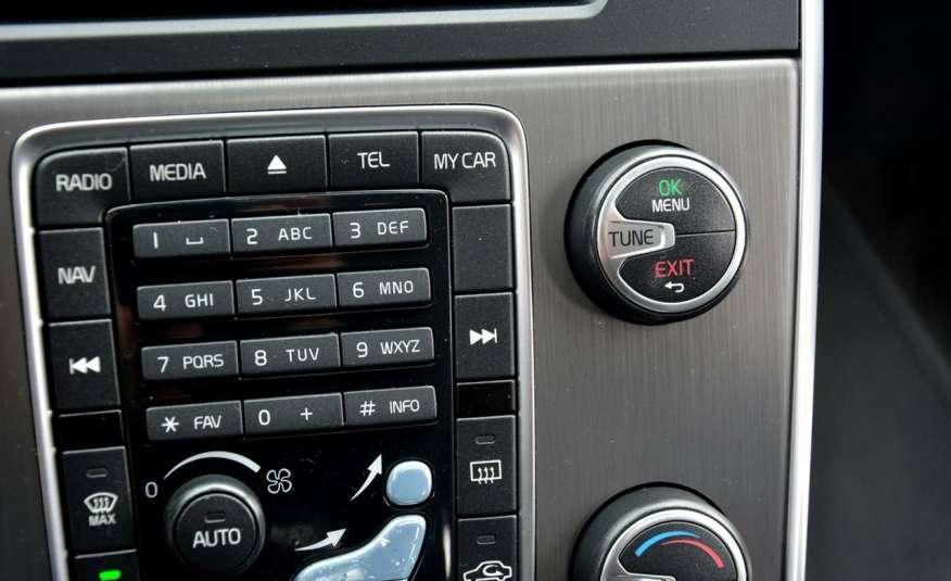 Volvo V60 2.0d(163KM) Biała Perła Xenon Led Skóry Navi Parkt. ASO zdjęcie 32