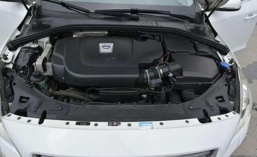Volvo V60 2.0d(163KM) Biała Perła Xenon Led Skóry Navi Parkt. ASO zdjęcie 38