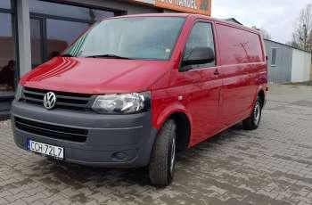 Volkswagen Transporter 2.0 TDI Długi Skrzydła Hak 3-osoby
