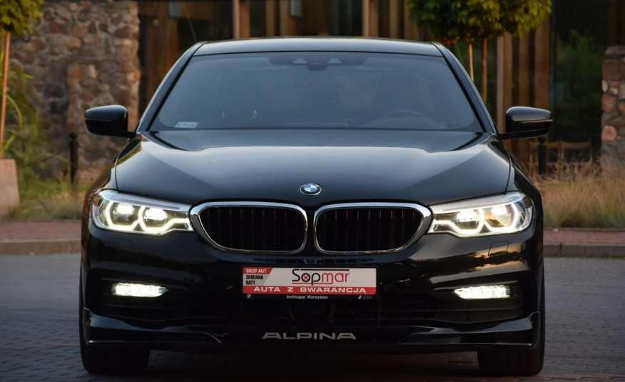 BMW 550 G30 Alpina B5 V8 Bi-turbo 608KM XDrive 2018r. Polski SALON zdjęcie 8