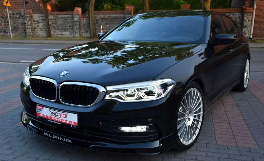BMW 550 G30 Alpina B5 V8 Bi-turbo 608KM XDrive 2018r. Polski SALON zdjęcie 19