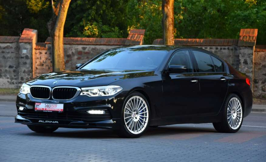 BMW 550 G30 Alpina B5 V8 Bi-turbo 608KM XDrive 2018r. Polski SALON zdjęcie 20