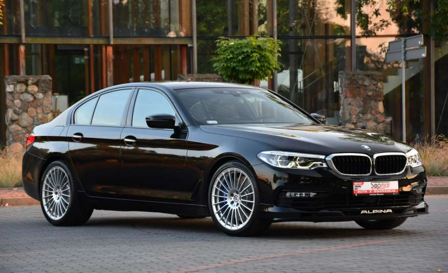 BMW 550 G30 Alpina B5 V8 Bi-turbo 608KM XDrive 2018r. Polski SALON zdjęcie 25