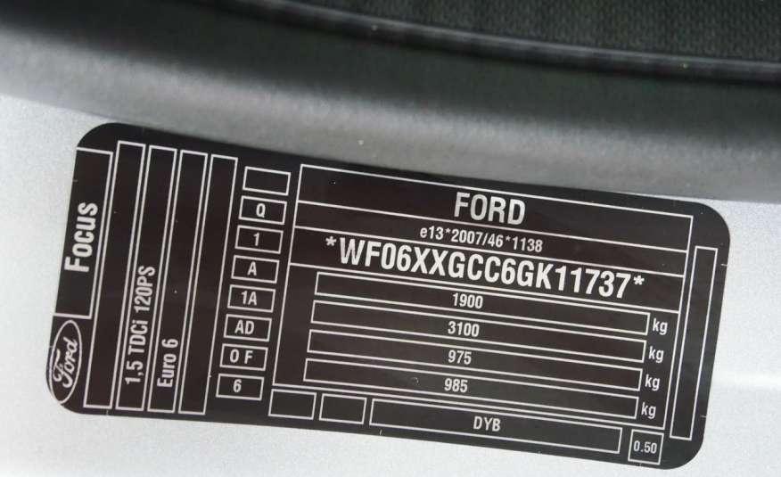 FORD Focus SPORT 1.5 TDCi 120KM • Salon PL • Serwis • Bezwypadkowy • GWARANCJA zdjęcie 20