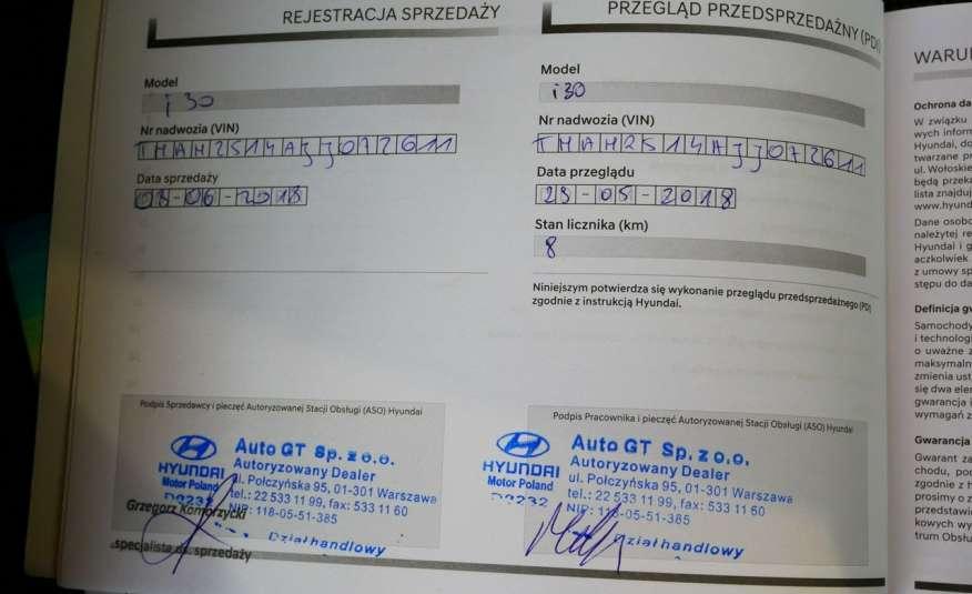 Hyundai i30 1.4 DOHC 16V Benzyna • Salon Polska • 32 tys.km • Bezwypadkowy zdjęcie 15