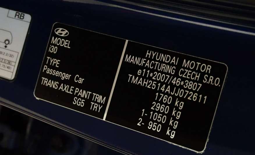 Hyundai i30 1.4 DOHC 16V Benzyna • Salon Polska • 32 tys.km • Bezwypadkowy zdjęcie 17