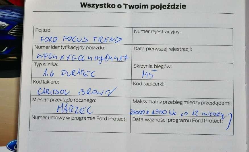 FORD Focus 1.6 Benzyna • Salon Polska • Serwis • Bezwypadkowy • GWARANCJA zdjęcie 15