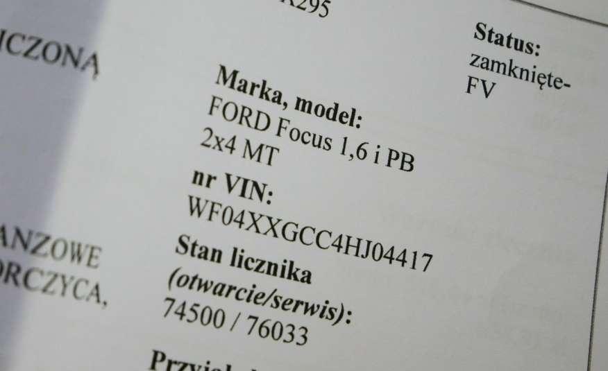 FORD Focus 1.6 Benzyna • Salon Polska • Serwis • Bezwypadkowy • GWARANCJA zdjęcie 18