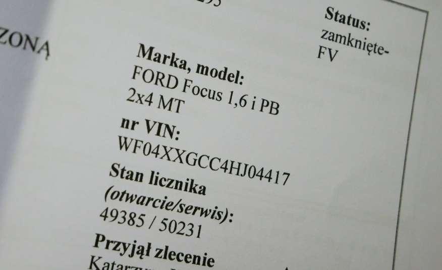 FORD Focus 1.6 Benzyna • Salon Polska • Serwis • Bezwypadkowy • GWARANCJA zdjęcie 19