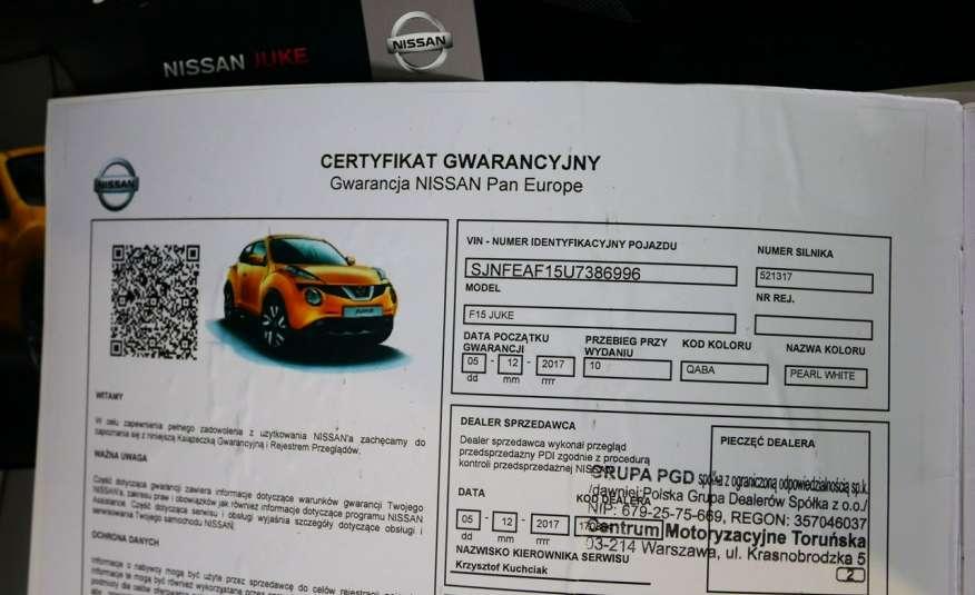 Nissan Juke N-Connecta • BIAŁA PERŁA • Salon Polska • Serwis • Bezwypadkowy zdjęcie 17