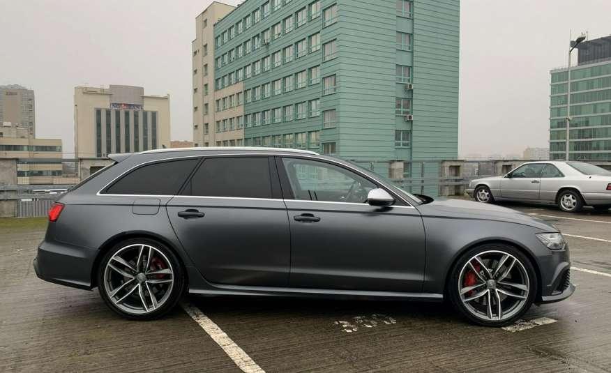 Audi RS6 4.0benz 560PS Quattro Matrix kamera 360 Zarej. w PL zdjęcie 2