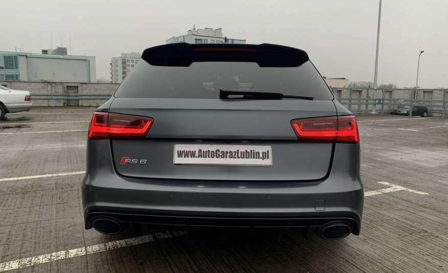 Audi RS6 4.0benz 560PS Quattro Matrix kamera 360 Zarej. w PL zdjęcie 4