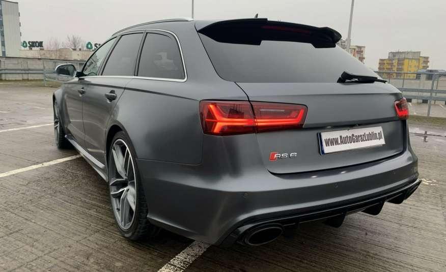 Audi RS6 4.0benz 560PS Quattro Matrix kamera 360 Zarej. w PL zdjęcie 5