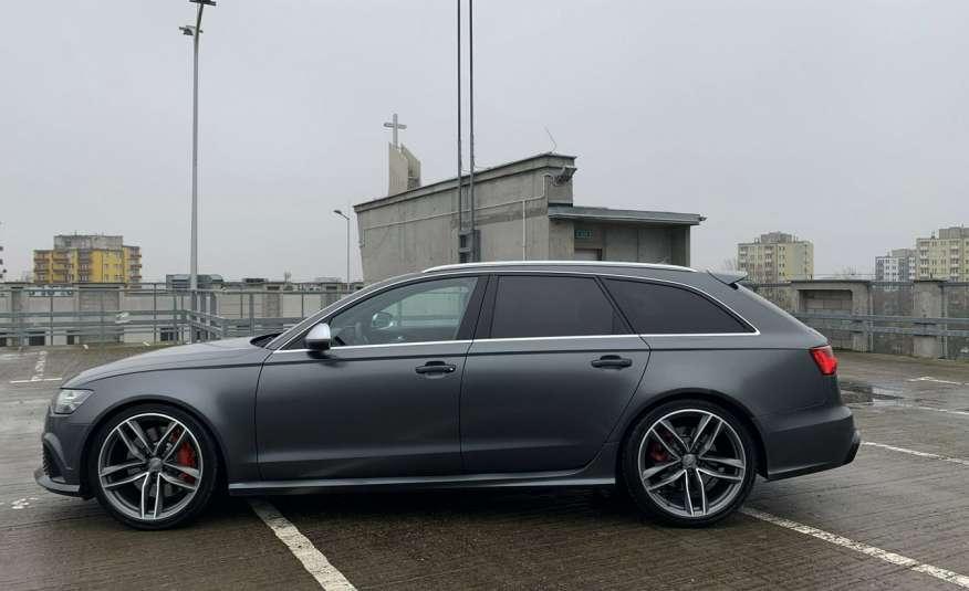Audi RS6 4.0benz 560PS Quattro Matrix kamera 360 Zarej. w PL zdjęcie 6