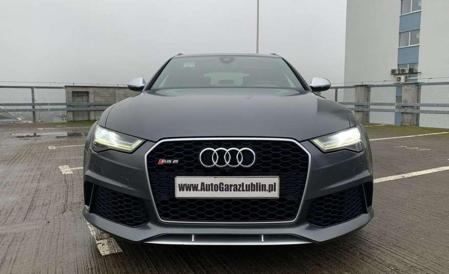 Audi RS6 4.0benz 560PS Quattro Matrix kamera 360 Zarej. w PL zdjęcie 8
