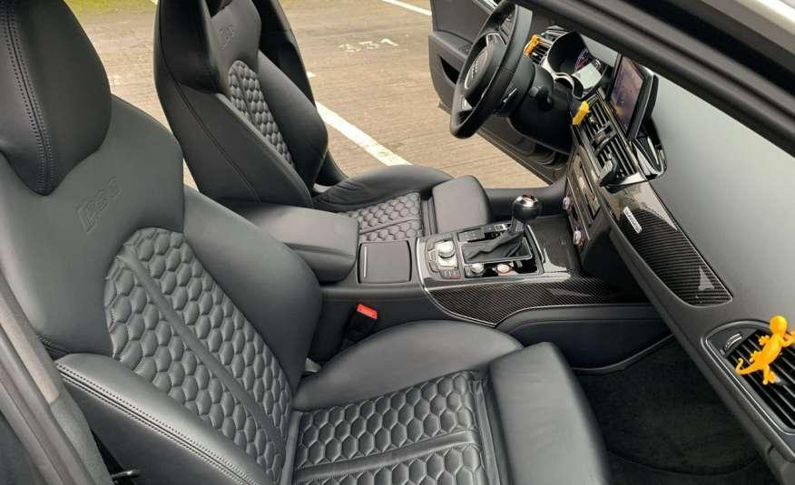Audi RS6 4.0benz 560PS Quattro Matrix kamera 360 Zarej. w PL zdjęcie 11
