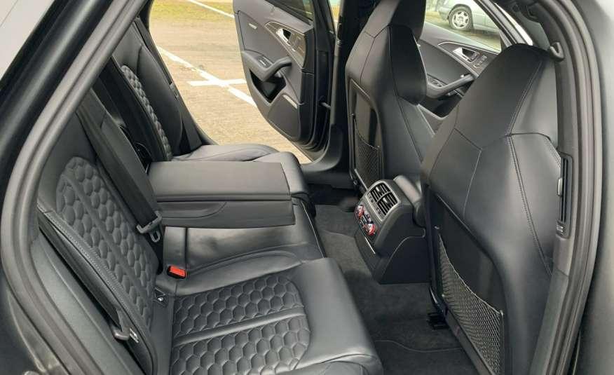 Audi RS6 4.0benz 560PS Quattro Matrix kamera 360 Zarej. w PL zdjęcie 13