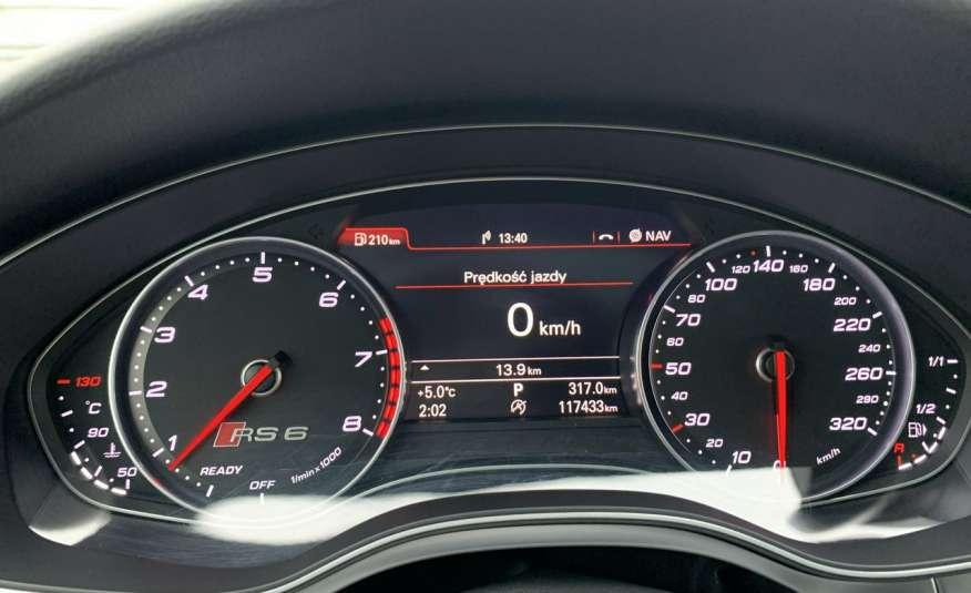 Audi RS6 4.0benz 560PS Quattro Matrix kamera 360 Zarej. w PL zdjęcie 35